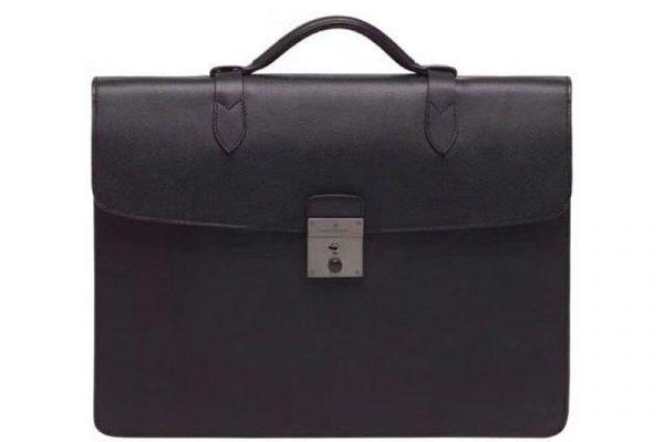 Replica Mens Mulberry Briefcase Bags 186495 Black