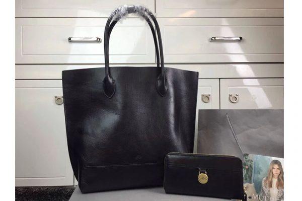 Replica Mulberry 295265 Tote Bags Black