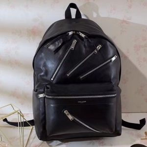 Replica YSL Yves Saint Laurent Classic City Backpack 360207 Black