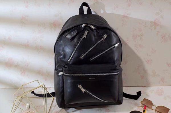 Replica YSL Yves Saint Laurent Classic City Backpack 360207 Black