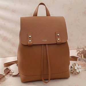 Replica Saint Laurent Sac De Jour Backpack Grained Leather 480585 Tan