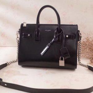 Replica Saint Laurent Sac De Jour Souple Duffle Bag in Moroder Leather 491715
