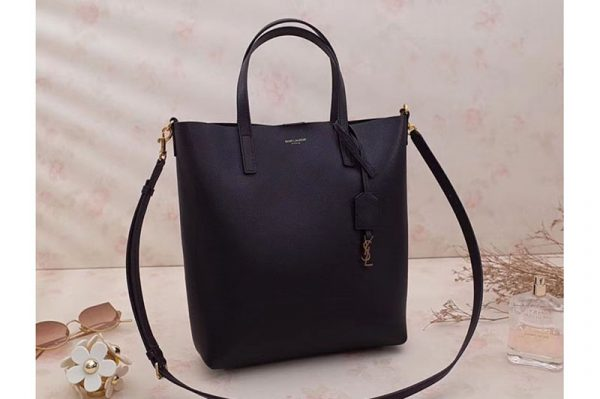Replica Saint Laurent Shopping Toy North/South Bag 498612 Black