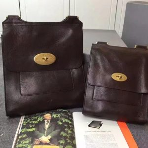 Replica Mulberry Antony Natural Leather Bags 618425 Coffee