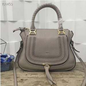 Replica Chloe Marcie Medium Satchel Bags 0036S Gray