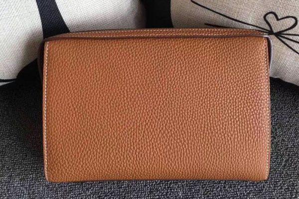 Replica Mens Hermes 24cm Clutch Original Swift Leather Bags Tan