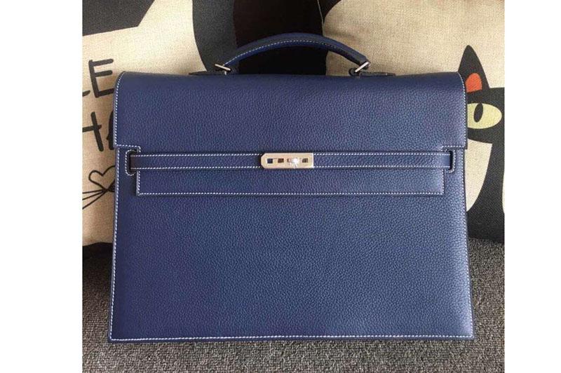 Hermes Kelly Depeche 37mm Briefcase Bags Original Togo