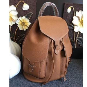 Replica Hermes Original Togo Leather Backpack Tan