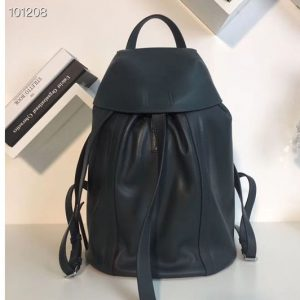 Replica Loewe Rucksack Small Backpack bags Original Leather Green