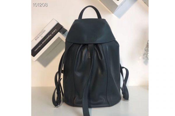 Replica Loewe Rucksack Small Backpack bags Original Leather Green