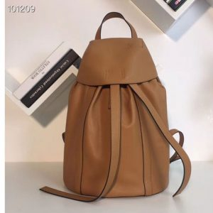 Replica Loewe Rucksack Small Backpack bags Original Leather Tan