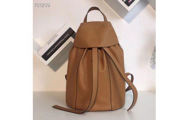 Replica Loewe Rucksack Small Backpack bags Original Leather Tan