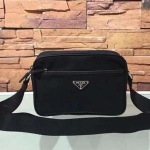 Replica Mens Prada 2VH048 Nylon Bags Black