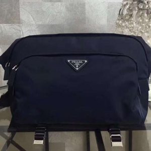 Replica Mens Prada 2VH021 Nylon Bags Blue