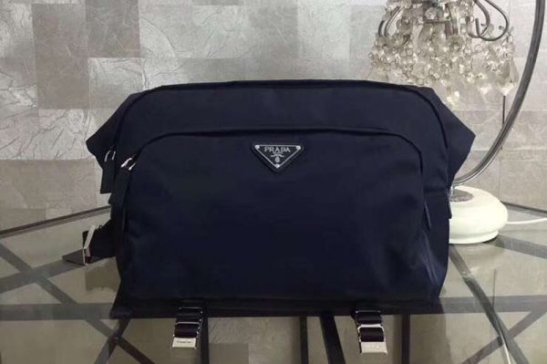 Replica Mens Prada 2VH021 Nylon Bags Blue