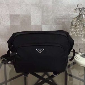 Replica Mens Prada 2VH021 Nylon Bags Black