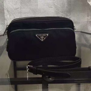 Replica Prada BT1010 Nylon Bags Black