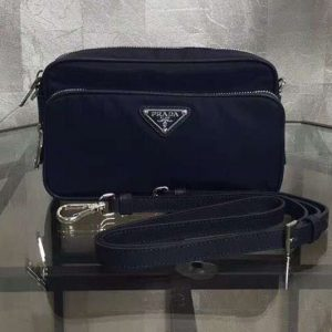 Replica Prada BT1010 Nylon Bags Dark Blue