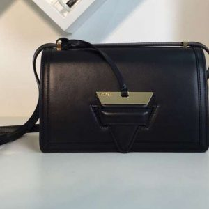 Replica Loewe Barcelona Bag Boxcalf Leather Black