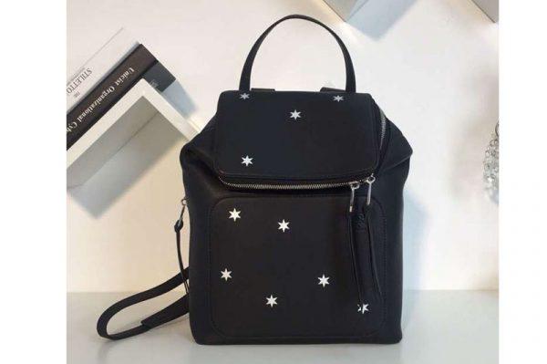 Replica Loewe Goya Small Backpack Soft Natural Calf Black With Star