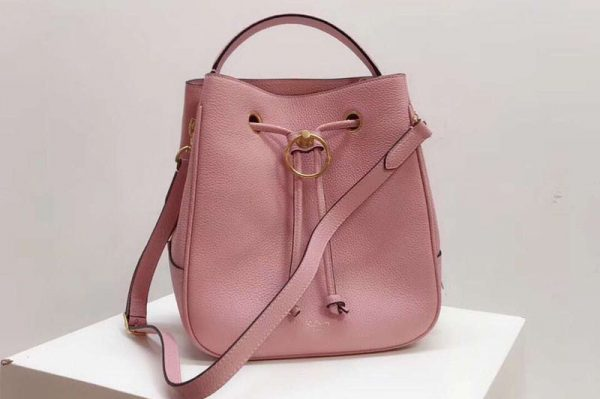 Replica Mulberry Hampstead Small/Medium Classic Grain Leather Bags Pink