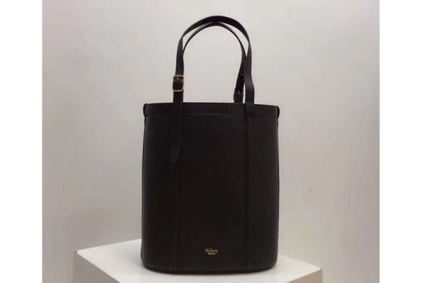 Replica Mulberry Small Wilton Tote Bags Silky Calf Leather Black