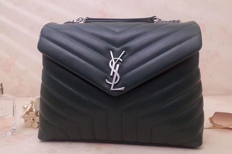 Ysl Saint Laurent Medium Loulou Chain Bags 459749 Dark
