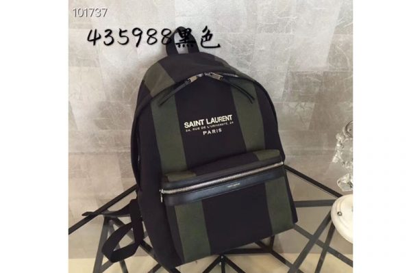 Replica YSL Saint Laurent Classic City Backpack Camouflage