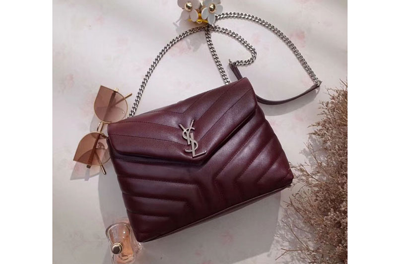 Ysl Saint Laurent Small Loulou Chain Bags 464676 Original