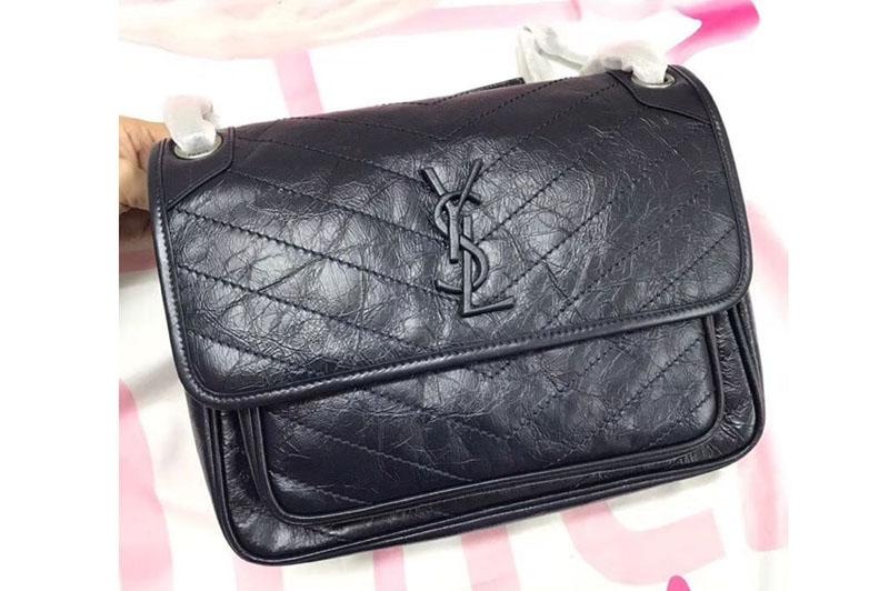 Ysl Saint Laurent Niki Medium Bag Vintage Leather 498894