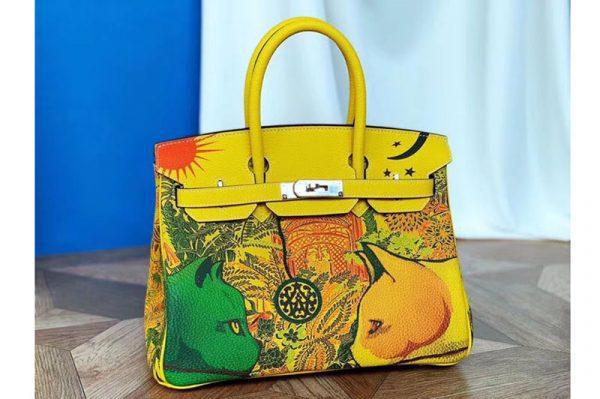 Replica Hermes birkin 25 Cat Limited Edtion Bags Original Togo Leather Full Handstitch