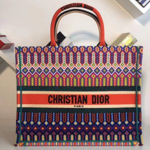 Replica Dior M1286 Book Tote 42mm Bag in Embroidered canvas