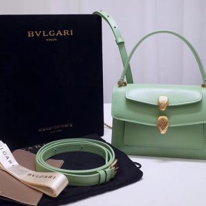 Replica Alexander Wang x Bvlgari 288738 Belt Bag Green Smooth Calf Leather
