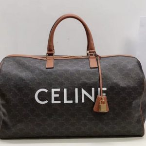 Replica Celine 191472 LARGE VOYAGE BAG IN TRIOMPHE CANVAS