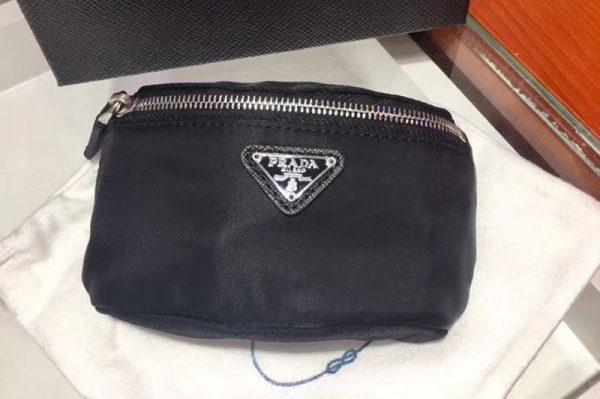 Replica Prada black Gym Trick nylon belt bags