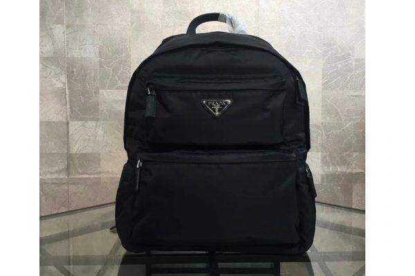 Replica Prada 2VZ025 Nylon backpack Black Nylon