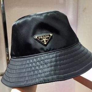 Replica Prada 2HC137 Nylon rain hat Black Nylon