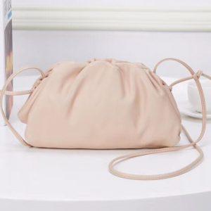 Replica Bottega Veneta The Pouch 20 Bags Cream Butter Calf Leather