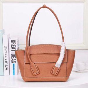 Replica Bottega Veneta 576725 The Arco 33 Bags Tan French Calf Leather