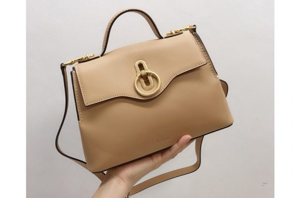 Replica Mulberry HH5059 Mini Seaton Bag in Caramel Small Classic Grain