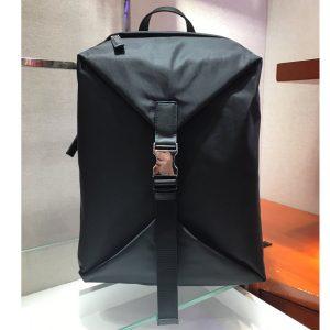 Replica Prada 2VZ028 Nylon Backpack in Black Nylon