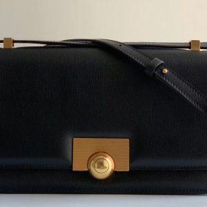Replica Bottega Veneta 578009 BV classic Shoulder bag in Black Calf Leather