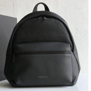 Replica Bottega Veneta 599634 BV Backpack In Matt-finish leather