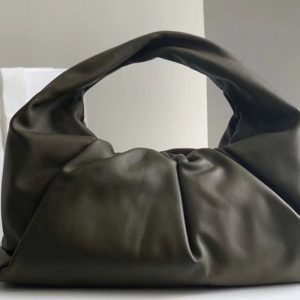 Replica Bottega Veneta 610524 The shoulder Pouch bag in Avocado Calfskin Leather