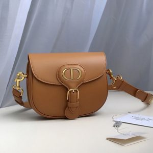 Replica Christian Dior M9317 Small Dior Bobby Bag in Tan Box Calfskin