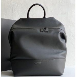 Replica Bottega Veneta 612064 BV Backpack In Black Calfskin Leather