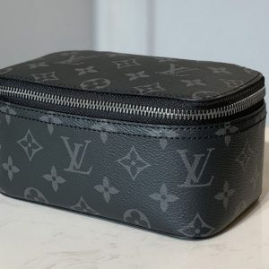 Replica Louis Vuitton M43688 LV Packing Cube PM in Monogram Eclipse Canvas