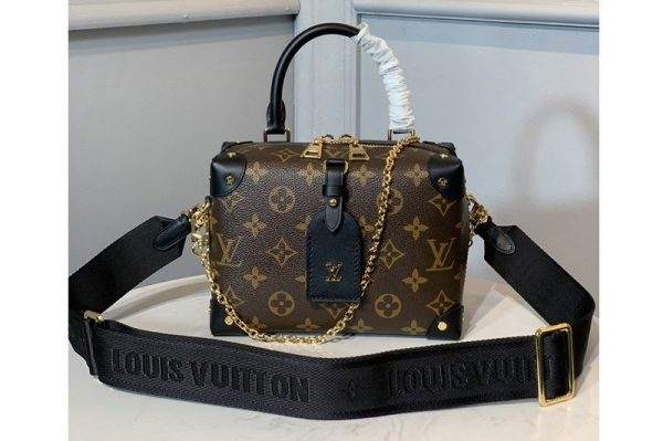 Replica Louis Vuitton M44683 LV petitie malle souple Bag in Monogram canvas
