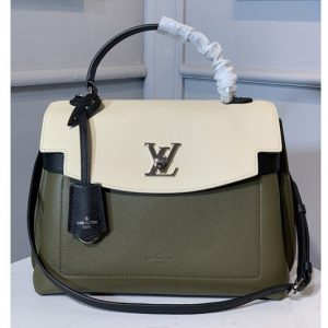 Replica Louis Vuitton M52787 LV Lockme Ever MM bag in Soft grained calfskin Leather