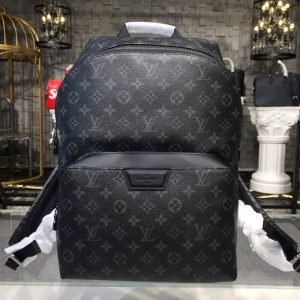 Replica Louis Vuitton M43186 LV Discovery Backpack PM in supple Monogram Eclipse Canvas